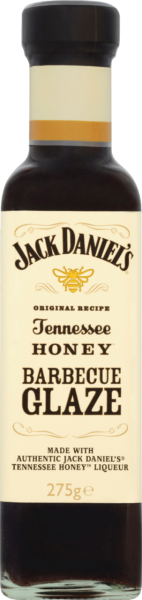 Jack Daniels BBQ-Sauce Honey Glaze (Inhalt 275 g)