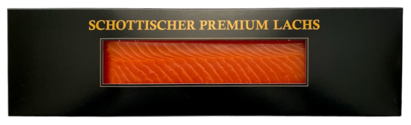 Rauchlachs Premium Schottisches Rückenfilet Royal (Inhalt 300 g)