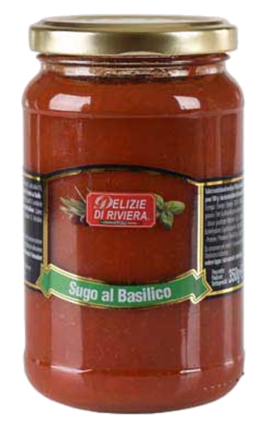 Pastasauce Tomaten/Basilikum (Inhalt 350 g)