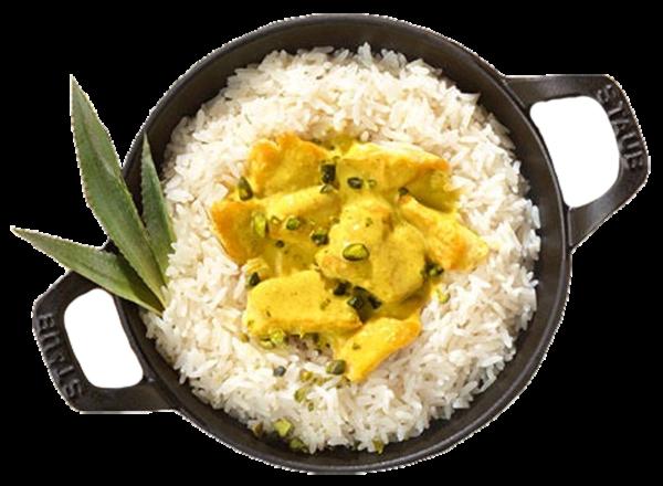 Riz Casimir - Pouletgeschnetzeltes an Currysauce gekocht (Inhalt 370 g)