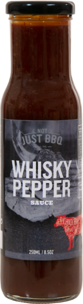 BBQ-Sauce Whisky/Pfeffer (Inhalt 250 ml)
