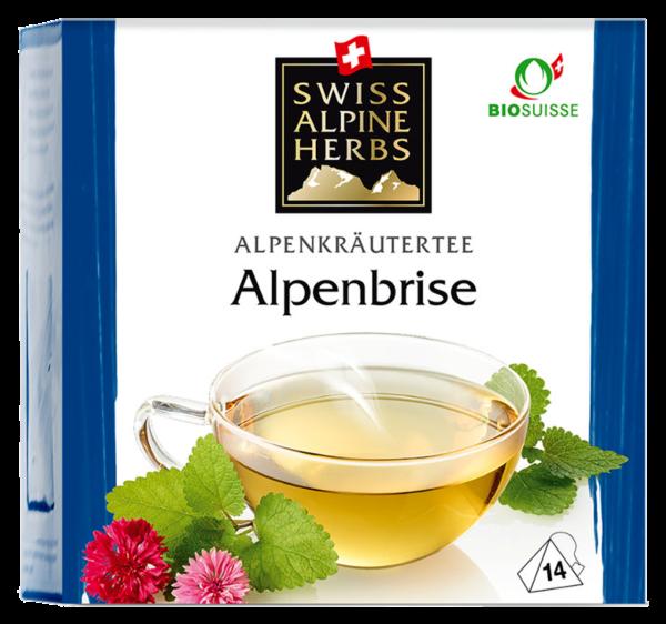 Bio Tee Swiss Alpine Herbs Alpenbrise (Inhalt 14 g)