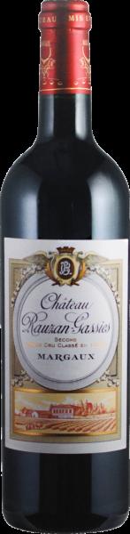 Château Rauzan-Gassies 2eme Grand Cru Classé Margaux AOC 2011 (Inhalt 75 cl)