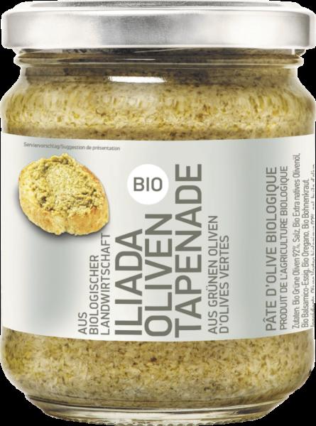Tapenade aus grünen Oliven (Inhalt 175 g)