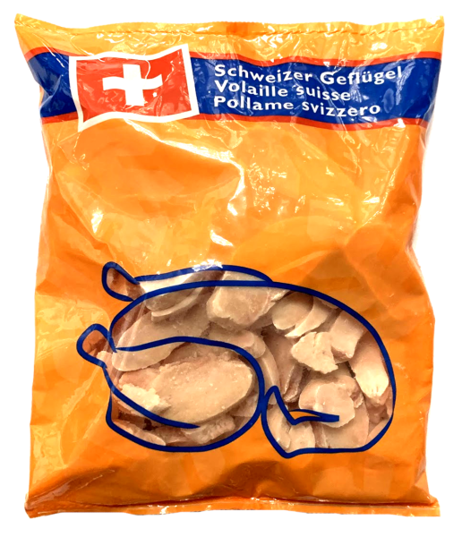 Pouletgeschnetzeltes aus Brust 1500 g