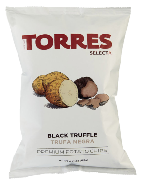 Trüffel Chips gesalzen (Inhalt 125 g)