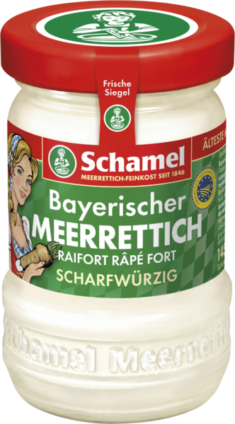 Bayerischer Meerrettich Schamel (Inhalt 145 g)