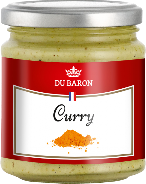 Curry-Sauce Du Baron (Inhalt 160 g)