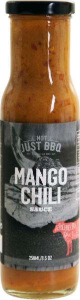 BBQ-Sauce Mango/Chili (Inhalt 250 ml)