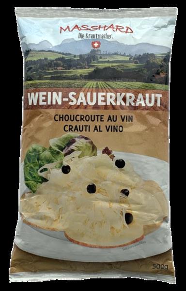 Weinsauerkraut fixfertig pasteurisiert (Inhalt 500 g)