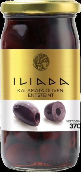 Iliada Oliven Kalamata ohne Stein (Inhalt 370 g)