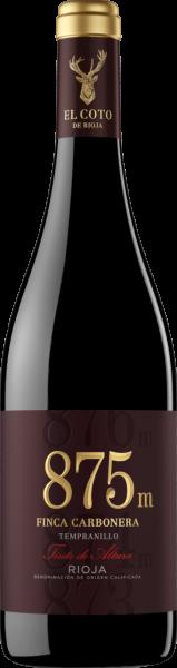 875m Tempranillo Finca Carbonera Rioja DOCa Bodega El Coto MO 2018 (Inhalt 75 cl)