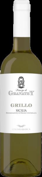 Principe di Granatey Grillo Sicilia DOC Colomba Bianca MO 2019 (Inhalt 75 cl)