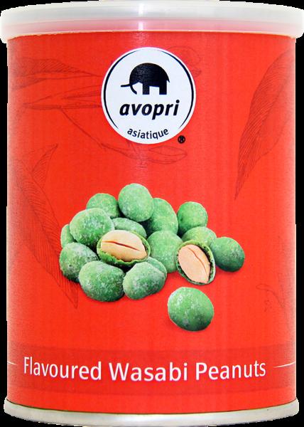 Erdnüsse geröstet mit Wasabi (Inhalt 115 g)