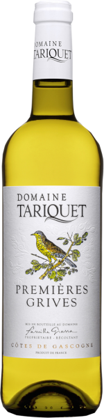 Les Premières Grives doux Côtes de Cascogne IGP Domaine du Tariquet MO 2019 (Inhalt 75 cl)