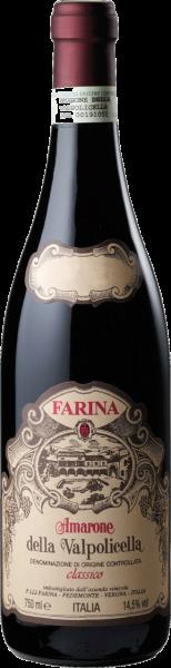 Amarone della Valpolicella Classico DOC Azienda Vinicola Farina MO 2016 (Inhalt 75 cl)