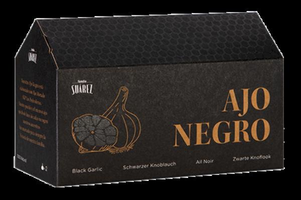 Schwarze Knoblauchzehen (Inhalt Schachtel 2 Stück)